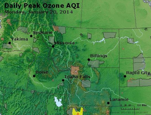 Peak Ozone (8-hour) - http://files.airnowtech.org/airnow/2014/20140120/peak_o3_mt_id_wy.jpg