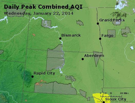 Peak AQI - http://files.airnowtech.org/airnow/2014/20140122/peak_aqi_nd_sd.jpg