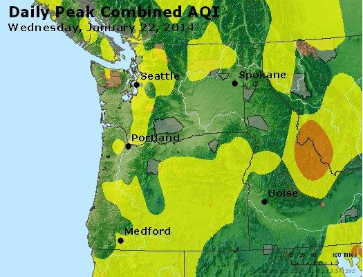 Peak AQI - http://files.airnowtech.org/airnow/2014/20140122/peak_aqi_wa_or.jpg