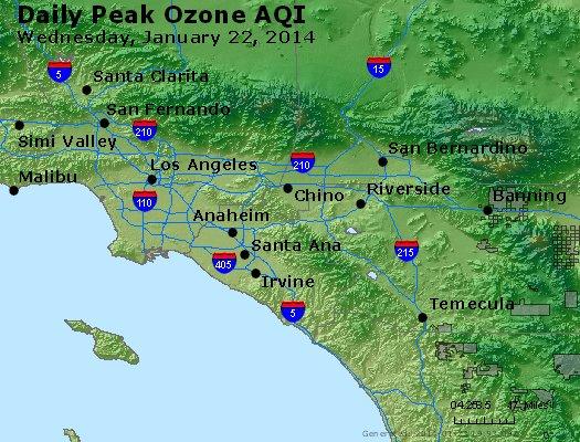 Peak Ozone (8-hour) - http://files.airnowtech.org/airnow/2014/20140122/peak_o3_losangeles_ca.jpg