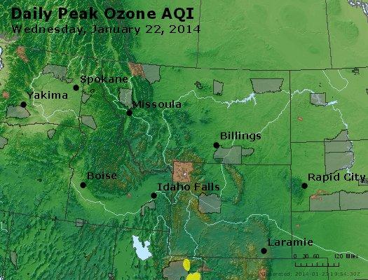 Peak Ozone (8-hour) - http://files.airnowtech.org/airnow/2014/20140122/peak_o3_mt_id_wy.jpg