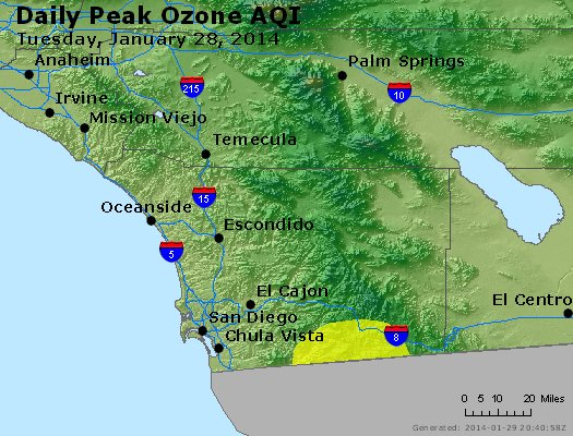 Peak Ozone (8-hour) - http://files.airnowtech.org/airnow/2014/20140128/peak_o3_sandiego_ca.jpg
