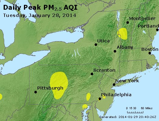 Peak Particles PM<sub>2.5</sub> (24-hour) - http://files.airnowtech.org/airnow/2014/20140128/peak_pm25_ny_pa_nj.jpg