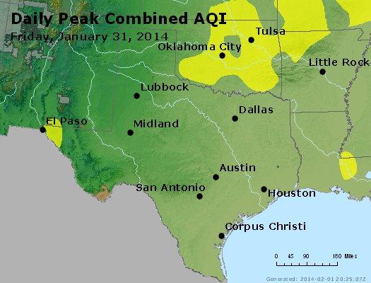 Peak AQI - http://files.airnowtech.org/airnow/2014/20140131/peak_aqi_tx_ok.jpg