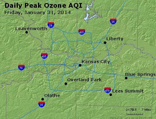 Peak Ozone (8-hour) - http://files.airnowtech.org/airnow/2014/20140131/peak_o3_kansascity_mo.jpg