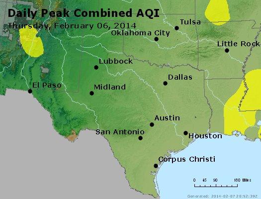Peak AQI - http://files.airnowtech.org/airnow/2014/20140206/peak_aqi_tx_ok.jpg