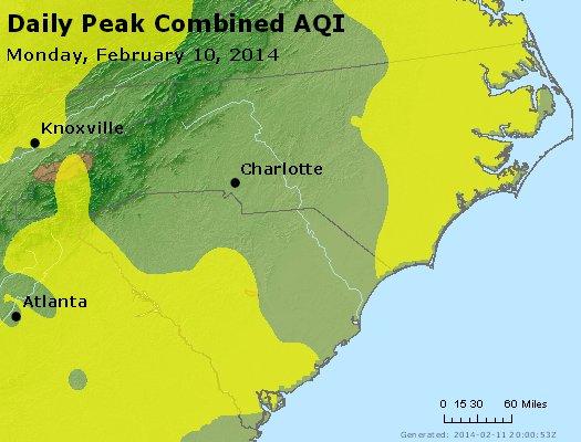 Peak AQI - http://files.airnowtech.org/airnow/2014/20140210/peak_aqi_nc_sc.jpg