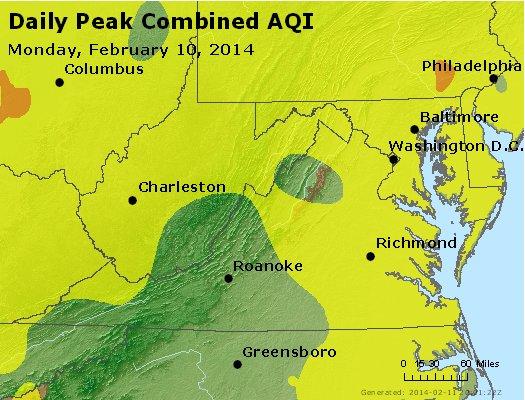 Peak AQI - http://files.airnowtech.org/airnow/2014/20140210/peak_aqi_va_wv_md_de_dc.jpg