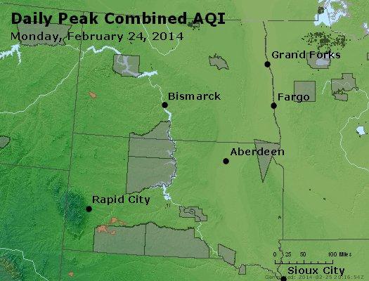 Peak AQI - http://files.airnowtech.org/airnow/2014/20140224/peak_aqi_nd_sd.jpg
