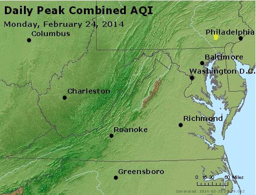 Peak AQI - http://files.airnowtech.org/airnow/2014/20140224/peak_aqi_va_wv_md_de_dc.jpg