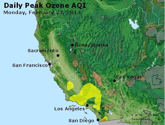 Peak Ozone (8-hour) - http://files.airnowtech.org/airnow/2014/20140224/peak_o3_ca_nv.jpg