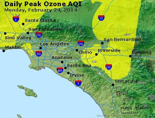 Peak Ozone (8-hour) - http://files.airnowtech.org/airnow/2014/20140224/peak_o3_losangeles_ca.jpg
