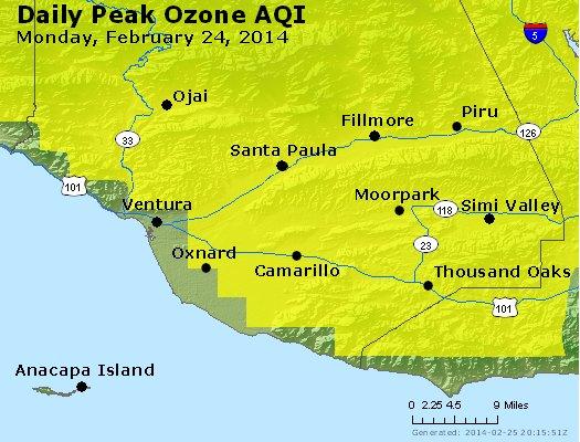 Peak Ozone (8-hour) - http://files.airnowtech.org/airnow/2014/20140224/peak_o3_ventura.jpg