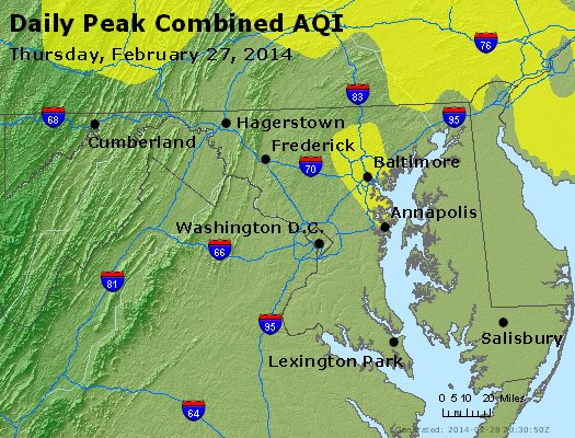 Peak AQI - http://files.airnowtech.org/airnow/2014/20140227/peak_aqi_maryland.jpg
