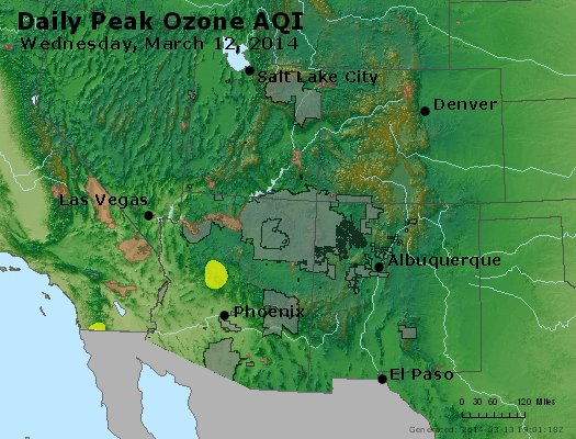 Peak Ozone (8-hour) - http://files.airnowtech.org/airnow/2014/20140312/peak_o3_co_ut_az_nm.jpg