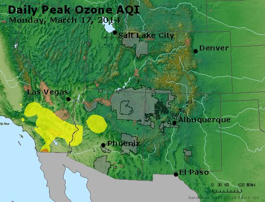 Peak Ozone (8-hour) - http://files.airnowtech.org/airnow/2014/20140317/peak_o3_co_ut_az_nm.jpg