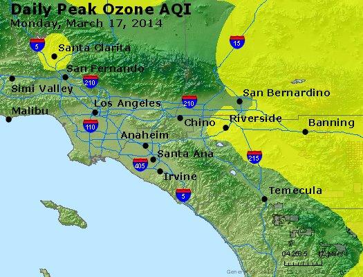 Peak Ozone (8-hour) - http://files.airnowtech.org/airnow/2014/20140317/peak_o3_losangeles_ca.jpg