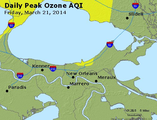 Peak Ozone (8-hour) - http://files.airnowtech.org/airnow/2014/20140321/peak_o3_neworleans_la.jpg
