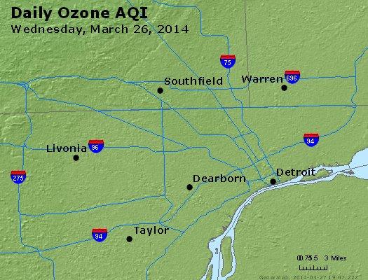 Peak Ozone (8-hour) - http://files.airnowtech.org/airnow/2014/20140326/peak_o3_detroit_mi.jpg