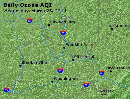 Peak Ozone (8-hour) - http://files.airnowtech.org/airnow/2014/20140326/peak_o3_pittsburgh_pa.jpg