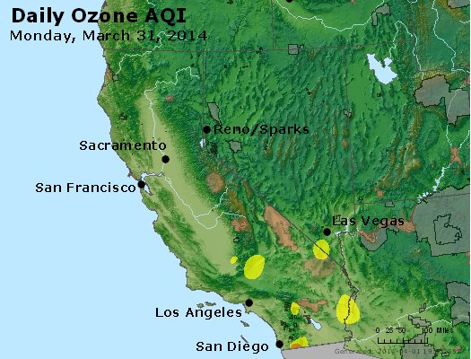Peak Ozone (8-hour) - http://files.airnowtech.org/airnow/2014/20140331/peak_o3_ca_nv.jpg