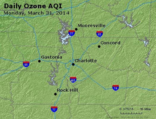 Peak Ozone (8-hour) - http://files.airnowtech.org/airnow/2014/20140331/peak_o3_charlotte_nc.jpg