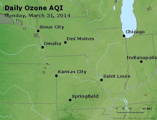 Peak Ozone (8-hour) - http://files.airnowtech.org/airnow/2014/20140331/peak_o3_ia_il_mo.jpg