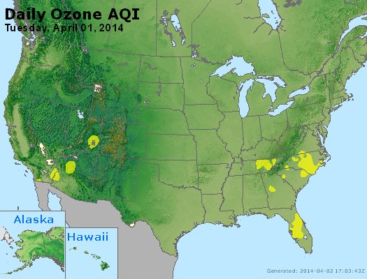 Peak Ozone (8-hour) - http://files.airnowtech.org/airnow/2014/20140401/peak_o3_usa.jpg