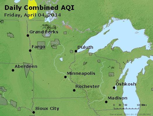 Peak AQI - http://files.airnowtech.org/airnow/2014/20140404/peak_aqi_mn_wi.jpg