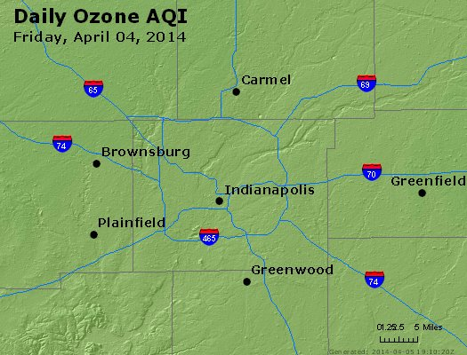 Peak Ozone (8-hour) - http://files.airnowtech.org/airnow/2014/20140404/peak_o3_indianapolis_in.jpg
