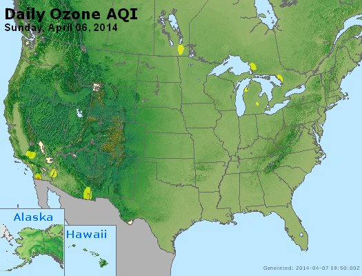 Peak Ozone (8-hour) - http://files.airnowtech.org/airnow/2014/20140406/peak_o3_usa.jpg