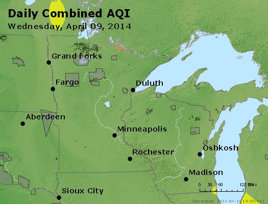 Peak AQI - http://files.airnowtech.org/airnow/2014/20140409/peak_aqi_mn_wi.jpg