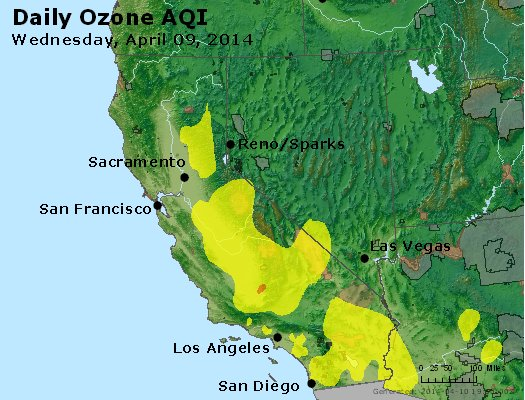Peak Ozone (8-hour) - http://files.airnowtech.org/airnow/2014/20140409/peak_o3_ca_nv.jpg