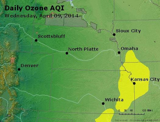 Peak Ozone (8-hour) - http://files.airnowtech.org/airnow/2014/20140409/peak_o3_ne_ks.jpg
