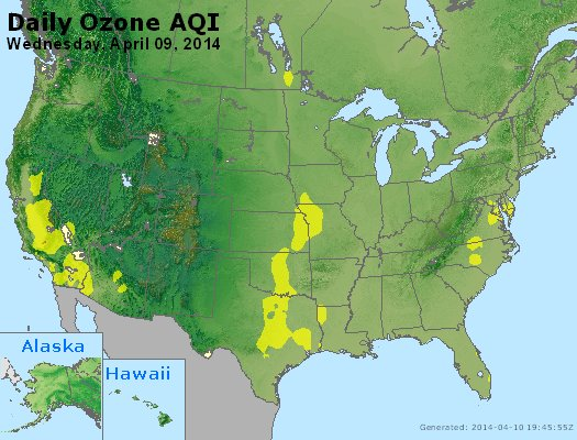 Peak Ozone (8-hour) - http://files.airnowtech.org/airnow/2014/20140409/peak_o3_usa.jpg