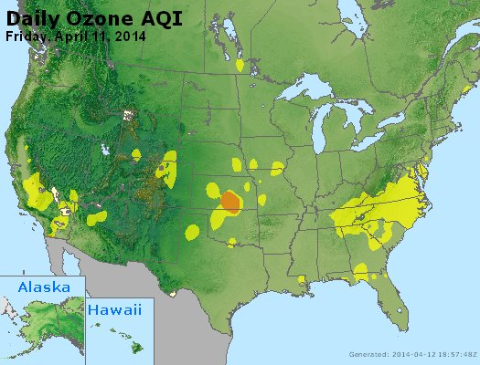 Peak Ozone (8-hour) - http://files.airnowtech.org/airnow/2014/20140411/peak_o3_usa.jpg