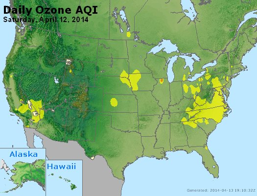 Peak Ozone (8-hour) - http://files.airnowtech.org/airnow/2014/20140412/peak_o3_usa.jpg