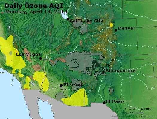 Peak Ozone (8-hour) - http://files.airnowtech.org/airnow/2014/20140414/peak_o3_co_ut_az_nm.jpg