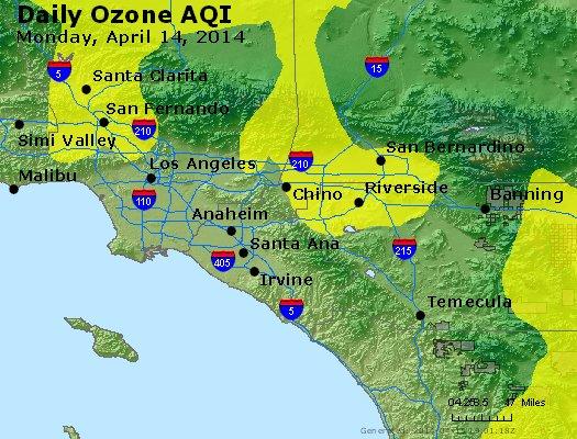 Peak Ozone (8-hour) - http://files.airnowtech.org/airnow/2014/20140414/peak_o3_losangeles_ca.jpg