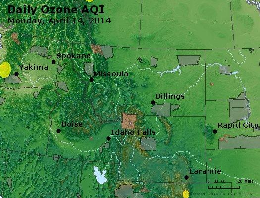 Peak Ozone (8-hour) - http://files.airnowtech.org/airnow/2014/20140414/peak_o3_mt_id_wy.jpg