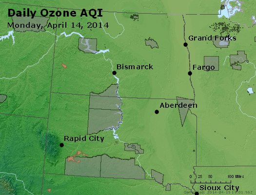 Peak Ozone (8-hour) - http://files.airnowtech.org/airnow/2014/20140414/peak_o3_nd_sd.jpg