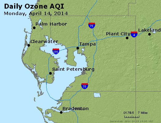 Peak Ozone (8-hour) - http://files.airnowtech.org/airnow/2014/20140414/peak_o3_tampa_fl.jpg