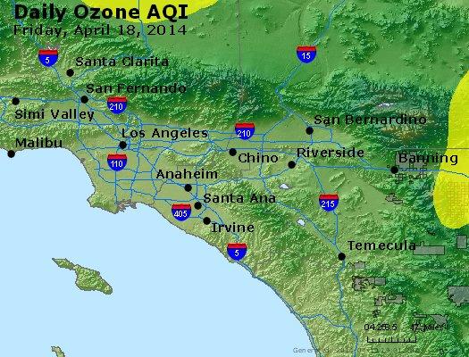 Peak Ozone (8-hour) - http://files.airnowtech.org/airnow/2014/20140418/peak_o3_losangeles_ca.jpg