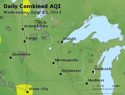 Peak AQI - http://files.airnowtech.org/airnow/2014/20140423/peak_aqi_mn_wi.jpg