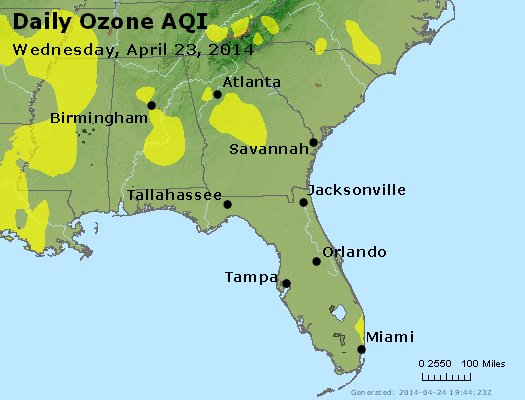 Peak Ozone (8-hour) - http://files.airnowtech.org/airnow/2014/20140423/peak_o3_al_ga_fl.jpg