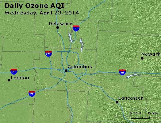 Peak Ozone (8-hour) - http://files.airnowtech.org/airnow/2014/20140423/peak_o3_columbus_oh.jpg
