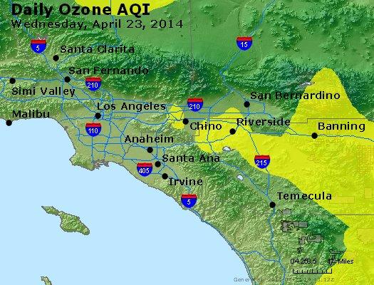 Peak Ozone (8-hour) - http://files.airnowtech.org/airnow/2014/20140423/peak_o3_losangeles_ca.jpg