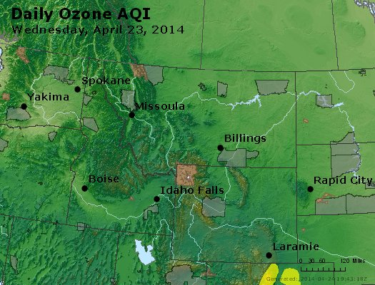 Peak Ozone (8-hour) - http://files.airnowtech.org/airnow/2014/20140423/peak_o3_mt_id_wy.jpg