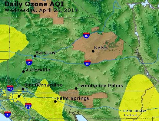 Peak Ozone (8-hour) - http://files.airnowtech.org/airnow/2014/20140423/peak_o3_sanbernardino_ca.jpg