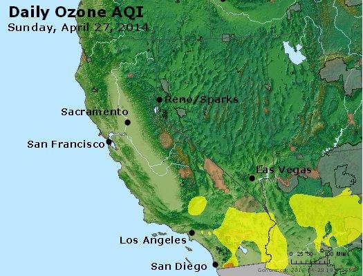 Peak Ozone (8-hour) - http://files.airnowtech.org/airnow/2014/20140427/peak_o3_ca_nv.jpg